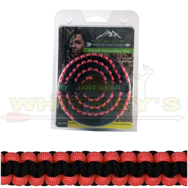 Jakt Gear Jakt Gear My Sling-A-Ling Magnetic Paracord Bow Sling - BLACK/NEON PINK