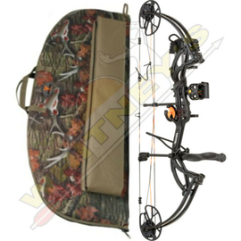 """Escalade Fred Bear Cruzer G2 Bow Shadow Black LH Package 5-70# 12-30"""" With Case"""