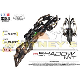 TenPoint Ten Point Shadow NXT - Rope Sled, Pro-View2 Scope Package