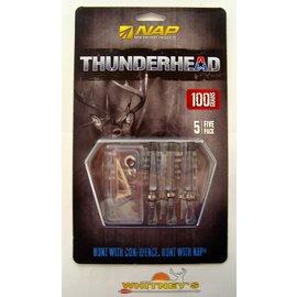 New Archery Products (NAP) NAP Thunderhead 100 Grain Broadhead-60-150