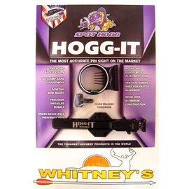 Spot Hogg Spot Hogg Hogg-It 5 Pin Micro Adjustable Fiber Optic Archery Sight LH/RH Black
