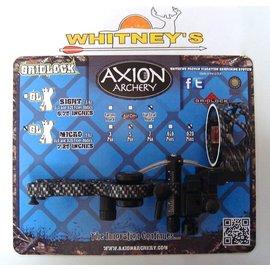 Axion Archery Axion Archery Gridlock GLX 5 Pin Micro Fiber Optic Sight RH Tactic.AAA-1605T GLX