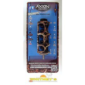 """Axion Archery Axion Archery Silencer 2nd Generation SSG 4"""" Stabilizer Lost Camo AAA-3304LC"""