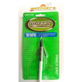 Muzzy Products Muzzy Bowfishing Classic Arrow Quick Release Carp Point  Safety Slide 1020-CSS