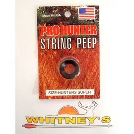 GWS GSW Pro Hunter String Peep Super Black 0085