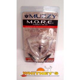 Muzzy Products Muzzy M.O.R.E Turkey Broadheads 125 Gr. 3 Blade, 3 - Pack -Item #115
