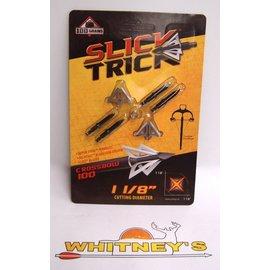 Slick Trick Slick Trick- 100 CROSSBOW Broadhead- 100 Grain 4PK-STX100