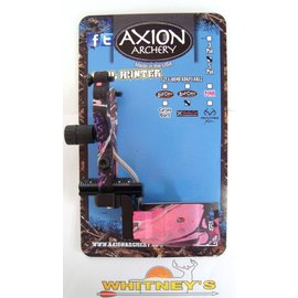 Axion Archery Axion Soul Hunter 5 Pin Fiber Optic Sight LH/RH Muddy Girl Pink Camo AAA-1505MG
