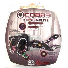 Cobra Cobra Buckhead Elite 5 Pin Sight w/Light Muddy Girl Pink Camo RH/LH C-805MG