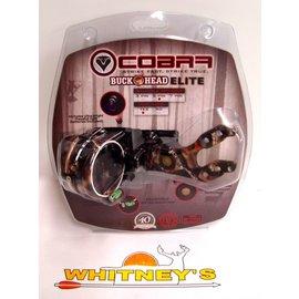 Cobra Cobra Buckhead Elite 5 Pin Fiber Optic Sight With Light Lost Camo C-805T LOST