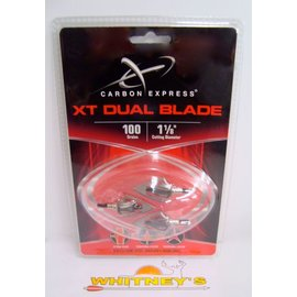 Eastman Outdoors Carbon Express XT Dual Blade Broadhead - 100 Gr. - 55522