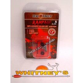 "Dead Ringer LLC Dead Ringer Rampage Blade Replacement Set-100/125 Grain - 1.5"" DR4750"