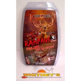 Dead Ringer LLC Dead Ringer Rampage 125 Grain XBOW 3PK-DR4729 -Adrenaline Junkies