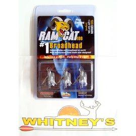 Fulton Precision Archery LLC. Ram Cat Broadheads- 100 Grain -by Smoke Broadheads
