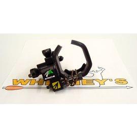 New Archery Products (NAP) NAP Apache Drop-Away Rest - Black, Left Hand Model