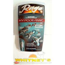 """Rage Slip Cam Rage SlipCam Hypodermic Full Assembly - 2 Blade/2""""/ 100 Gr."""