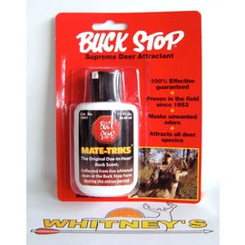 Buck Stop Lure Company Buck Stop - Mate-Triks - Doe-in-Heat Scent - 1.25 fl oz - 1001