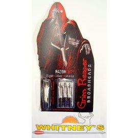 """Grim Reaper Grim Reaper RazorCut SS Broadhead-1 3/4"""" Cut- 125 Grain"""