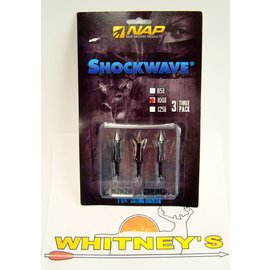 New Archery Products (NAP) NAP Shockwave 100 Gr. Mechnical Broadhead - 60-265