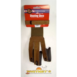 Neet Archery Products Neet Archery Products - Adult Large Shooting Glove - Brown Suede
