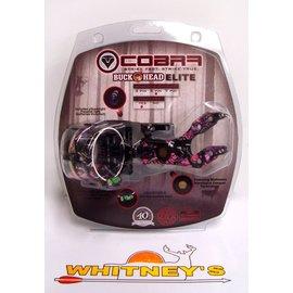 Cobra Cobra Buckhead Elite 5 Pin Micro Adjust Sight Muddy Girl Camo - C-805T-MG