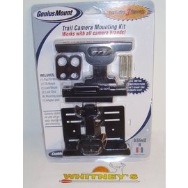 Non Typical, Inc Cuddeback Genius Mount-Trail Camera Mounting Kit- Includes 3 Mounts-3341