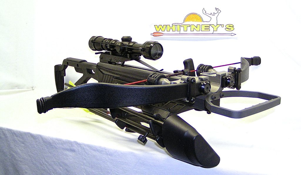 Excalibur NEW Excalibur Matrix Micro 335 Nightmare Crossbow Package/Compact  Recurve, With Free Rangefinder and Trail Camera