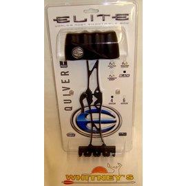 Elite Inc. Elite 1 Piece Quiver-4 Arrow-BLACK-#3714