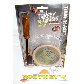 Quaker Boy Mossy Oak Turkey Thug Glass by Quaker Boy Turkey Call #99405