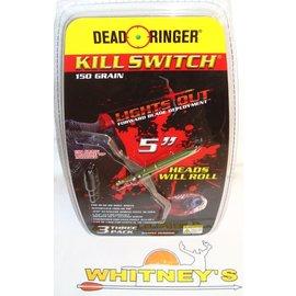"""Dead Ringer LLC Dead Ringer KILL SWITCH-5""""- 150 Grain-DR5200"""