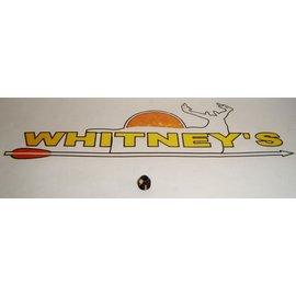 """Specialty Archery, LLC Specialty Archery 1/8"""" Aperture W/#1 Clarifier Lens (YELLOW)-#736"""
