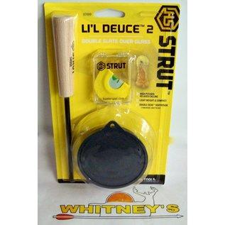 Hunter Specialties (HS) HS Strut Lil Deuce Slate W/ Diaphragm Call-07099