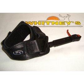 Hot Shot Mfg. Hot Shot Nano Post Index Finger Release W/ Black Buckle Wrist Strap-5104-BCK