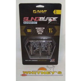 "New Archery Products (NAP) NAP Slingblade 100 Gr. X-Bow - 1 7/8"" Cut-#60-148"