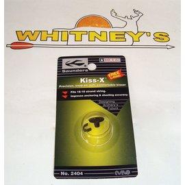 "Saunders Archery Saunders - Kisser Button - Kiss X - 1/2""-2404"