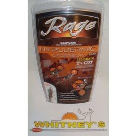 Rage Slip Cam Rage Hypodermic CROSSBOW 125 Gr. - 3 Pack-R39700