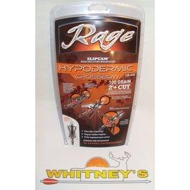 Rage Slip Cam Rage Hypodermic CROSSBOW 100 Gr. - 3 Pack-R39600