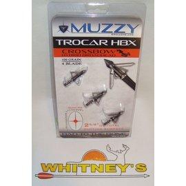 "Muzzy Products Muzzy Trocar X-Bow Hybrid 100 Gr., 4 Blade, 2 ⅝"" Cutting Surface-298"