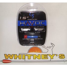 """G5 G5 Havoc XP And HS Replacement Blades 1.5""""-938"""