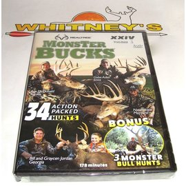 Realtree Outdoors RealTree Monster Bucks XXIV Volume 1 DVD-34 Hunts-1610