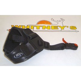 Hot Shot Mfg. Hot Shot Nano Index Finger Release W/ Black Buckle Wrist Strap-5103-BCK