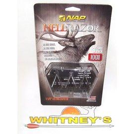 New Archery Products (NAP) NAP HellRazor 125 Grain Broadheads-60-411