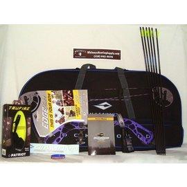 """BowTech Diamond by Bowtech- Edge SB-1 Purple Blaze RH-PKG-7-70# 15-30"""" Draw"""