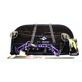 """BowTech Diamond by Bowtech- Edge SB-1 Purple Blaze LH -PKG-7-70# 15-30"""" Draw"""