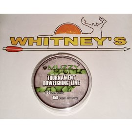 Muzzy Products Muzzy Bowfishing line 150# Spool 150 Ft.-1076