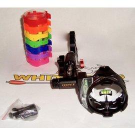 Hoyt Hoyt Pro Exceed Slider 1-Pin Micro Adjust - Black-1019542