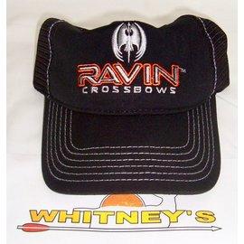 Raven Crossbows LLC RAVIN Baseball Hat-Black-Adjustable Fit-R230