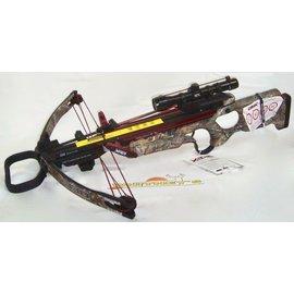 Cam-X Cam X Crossbow X330 RX - W/ NIR Scope, 4 Arrows, Roller Rope Cocker