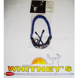 Paradox Products Paradox BowSling Elite Cobra Wrist Sling/Strap -Black/Blue