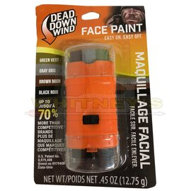 Dead Down Wind, LLC Dead Down Wind - Face Paint Mix (Brown, Grey, Green, Black) - #1255BC